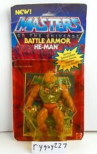 MOTU, Battle Armor He-Man, Masters of the Universe, MOC, carded, complete figure