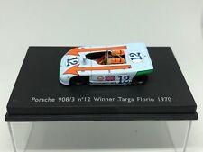 Spark 1:87 Porsche 908/3 Nº 12 Winner Targa Florio 1970 Very Rare