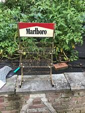 Vintage Marlboro Store Cigarette Display Advertising Old Store wire rack 1988