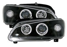 PHARES FEUX ANGEL EYES PEUGEOT 106 1996-2004 QUICKSILVER NOIR CRISTAL