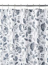 """Tommy Bahama """"Sunkissed Day Navy Floral """" Fabric Shower Curtain 72""""X72""""Nip"""