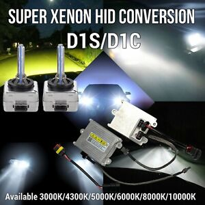 D1S D1C XENON HID HEADLIGHT CONVERSION KIT 45w Ballast Bulb W1 For GM JAE