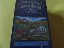 World's Smallest Puzzle _ 1000 Pieces_ Homecoming _ Bonnie White _ 70732_Tin Can
