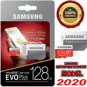 Samsug Evo Plus Carte Mémoire Micro sd 64 Go SDXC/SDHC + Adaptateur Authentique