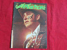 COUNTRY  Music People MAGAZINE Sep 79  Don WILLIAMS & Kenny ROGERS  cover pics