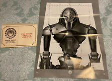 Loot Crate Exclusive Battlestar Galactica Cylon Range Facility Target Posters