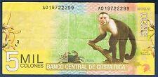 COSTA RICA - 5 000 COLONES Pick n° 276 du 2 septembre 2009 en TTB A019722299