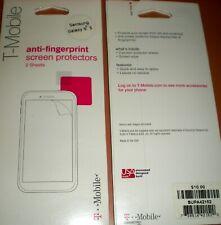 T-Mobile Brand PET Screen Protector film Galaxy S5, anti-fingerprint, X 2