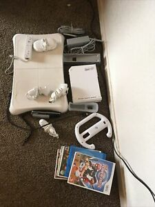 nintendo wii That's controllers games balance board etc. lot