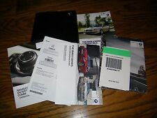 2013 BMW 6 Series Convertible owners manual with case and navigation Bmw316