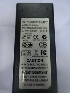 New in Box. Surplus to Requirements. DC 12V 8A Power Supply inc UK Plug. From UK