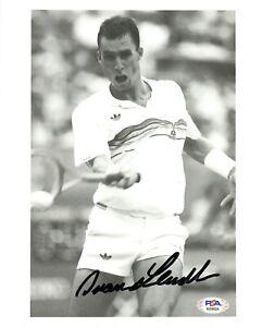 Ivan Lendl Tennis Signed Autograph 8 x 10 Photo PSA DNA