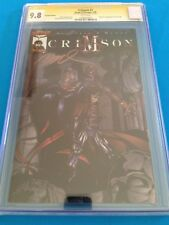 Crimson #1 Variant and Chromium set - Image - CGC SS 9.8 - All Signed by Ramos