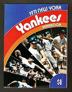 1971 New York Yankees Yearbook #2, 88 pages, Thurman Munson, Mel Stottlemyre