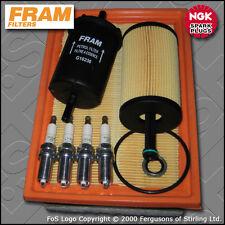 SERVICE KIT PEUGEOT 307 1.6 16V PETROL FRAM OIL AIR FUEL FILTER PLUG (2001-2004)