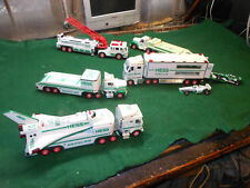 Hess Toy Trucks Lot of 5 Pieces ( Lot ) Used , No Boxes