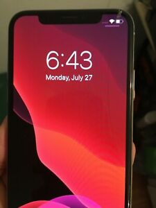 iPhone X Fortnite T-Mobile 64 gb Silver