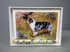 New Australian Shepherd Pet Dog 6 Notecards Envelopes & Pen Gift Set Dogs Ruth