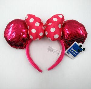 70 Styles Mickey Fun Fan Amuse Disney Park Minnie Mouse Ears Belle Bow Headband