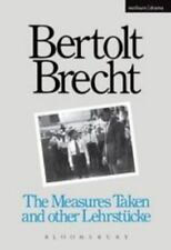 Measures Taken and Other Lehrstucke (Modern Plays) by Brecht, Bertolt
