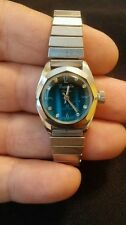 REMINGTON ELECTRA 23 LIFETIME MANUAL S/S BLUE DIAL CASUAL LADIES WATCH