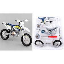 HUSQVARNA FE 501 1:12 Die Cast Motocross MX Toy Model Bike MAISTO ASSEMBLY LINE