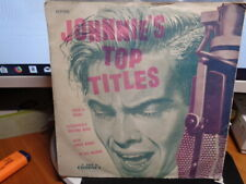 """Johnnie Ray """"Johnny's Top Titles"""" 1956 CORONET Oz 7"""" EP PS 45rpm"""