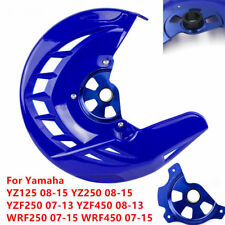 Front Brake Disc Guard For Yamaha YZ125/250 WRF250/450 08-15 YZF250/450 08-13
