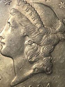 1904-S US Gold $20 Liberty Head Double Eagle American TWEENTY DOLLAR