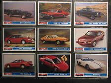 Mustang Card lot of 9 -1994 PYQCC