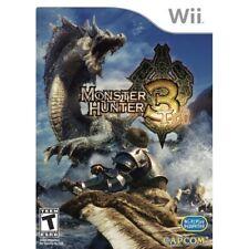 Monster Hunter Tri Standard For Wii RPG Game Only 5E