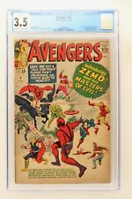 Avengers #6 - Marvel 1964 CGC 3.5 1st App Baron Zemo & Masters of Evil!