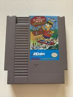 Vintage Nintendo The Simpsons Bart Vs The Space Mutants NES Cartridge