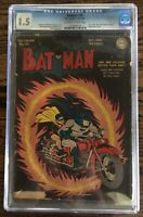 Batman 25 (DC Comics 1944)CGC 1.5, 1st Joker Penguin Team-Up, 1940 Series