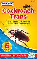 12 X Cockroach Fly Insect Food Clothes Moth Traps Sticky Pad Catcher Killer