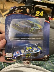 2004 Winner's Circle 1/64 Jeff Gordon #24 Pepsi Talladega Win Raced Version