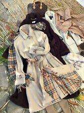 BURBERRY Trench Coat Mantel Damen Jacke Langmantel zu Schal Tod Gr. S M 38 40