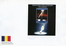 Chad 2018 FDC Michael Jackson 1v M/S Cover I Popstars Music Celebrities Stamps