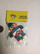 Dollhouse miniatures Hanging Clown