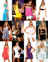 Wholesale Lot Sexy Mini Exotic Dress Party Cocktail Club Wear GoGo Rave S M L XL