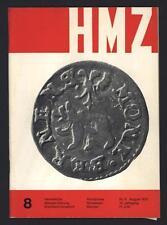█ HMZ Helvetische Münzen-Zeitung 1975 Erscheint monatlich Numismatisme Suisse █