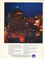 1964 San Francisco Drake Hotel - Original Advertisement Print Ad J132
