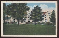 Postcard BATAVIA New York/NY  City Hospital Buidling view 1910's