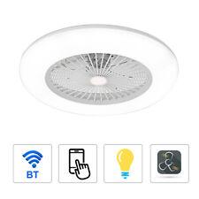 36W Deckenventilator mit Beleuchtung LED APP Fernbedienung Schlafzimmer V1K1