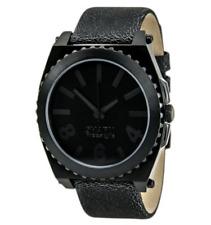 Shark Freestyle Mens Kraken Black Dial Skate Fashion Leather Watch 0407