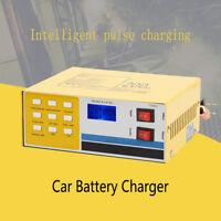 12V/24V 200AH Voiture Moto Auto Intelligent Chargeur de Batterie Automatique PB