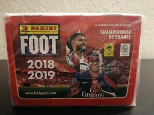 1 BOX DISPLAY PANINI FOOT t LIGUE1 2018 2019 CHAMPIONNAT LIGUE1
