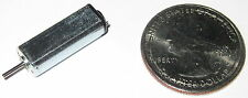 Tiny DC High Speed Electric Motor - 3 VDC - 15000 RPM - 1 mm x 5.3 mm Shaft