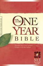 The One Year Bible NLT (2004, Paperback, Unabridged)