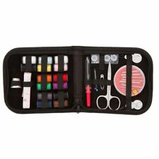 27pcs Travel Home Sewing Kit Case Needle Thread Tape Scissor Button Handcraft